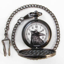 Load image into Gallery viewer, Raven King Pocket Watch - TheExCB