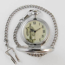 Load image into Gallery viewer, Skeletal Rib Pocket Watch - TheExCB