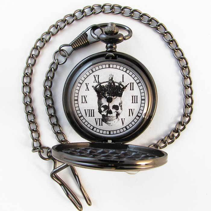 Skeleton King Pocket Watch - TheExCB