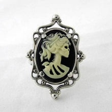 Load image into Gallery viewer, Skeleton Cameo Ring - TheExCB