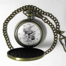 Load image into Gallery viewer, White Rabbit Pocket Watch - TheExCB