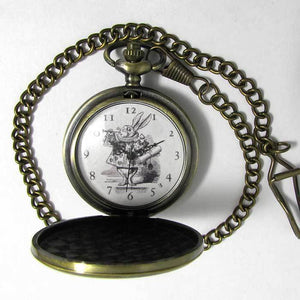 White Rabbit Pocket Watch - TheExCB