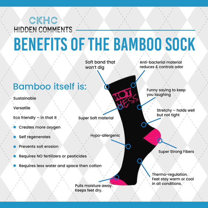 Benefits of the Hidden Comments Bamboo Sock?