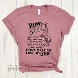 Perfect T shirt Mother's Day gift for a mom of a Tween or Tween