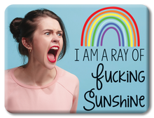 Load image into Gallery viewer, Ray of Fucking Sunshine Funny Magnet