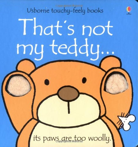 That's Not My Teddy Book
