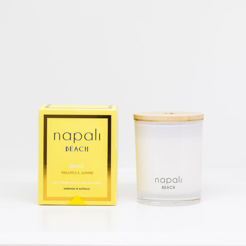 Napali Small Candle - Pineapple + Jasmine