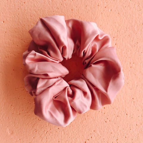 Scrunchie - Peach Caramel