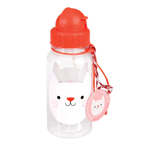Water Bottle - Cat