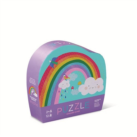 Mini Puzzle 12pc - Rainbow