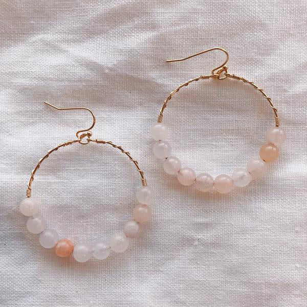 Misty Earring - Peach