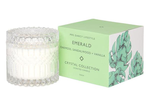 Emerald - Oakmoss, Sandalwood + Vanilla