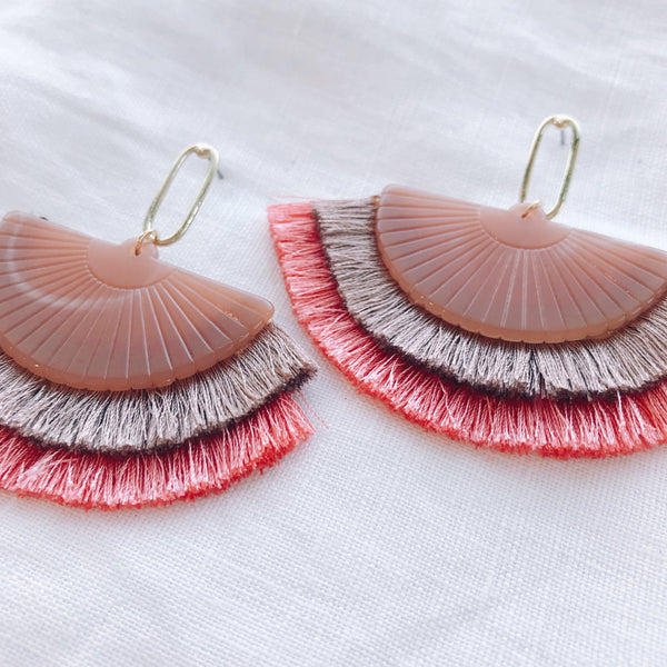 Abby Earring - Pink