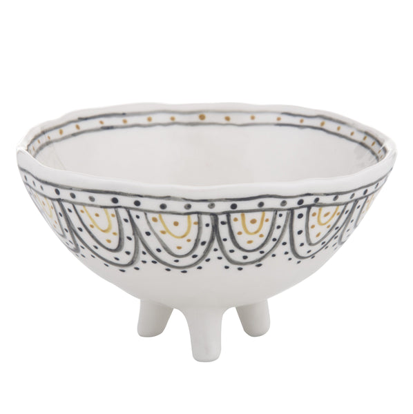 Ethnique Footed Bowl