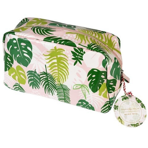 Wash bag - Tropical Palm