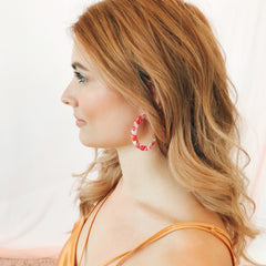 Betsy Earring - Red