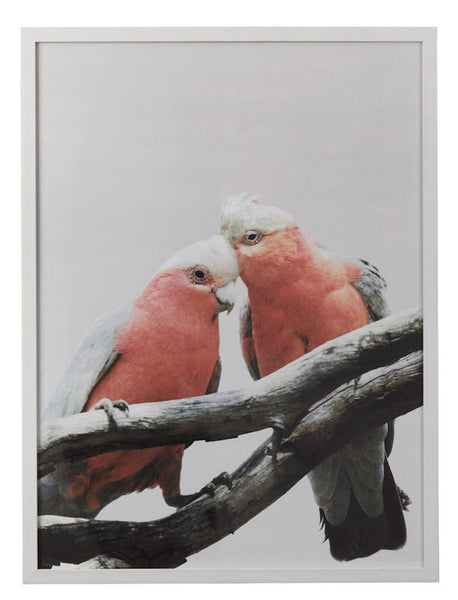 Pink Parrot Wall Decor