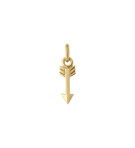 Kirstin Ash - Arrow Charm Gold