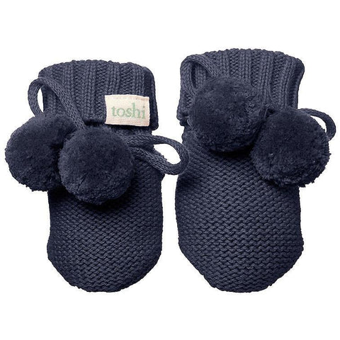 Organic Booties - Midnight