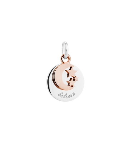 Kirstin Ash - Believe Charm Rose Gold
