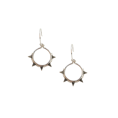 Silver Arrow Earring