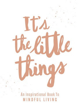 It's The Little Things Book