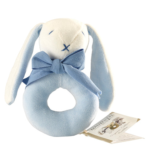 Donut Rattle - Bunny Blue