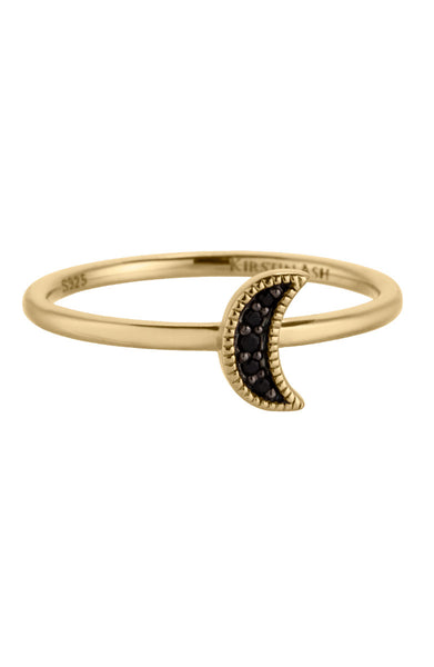 Moon Crescent Ring - Gold