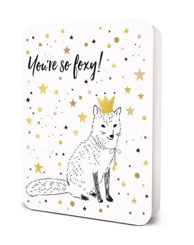 You're So Foxy Card