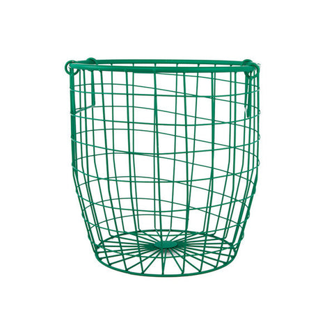 Wire Basket Small - Forest Green