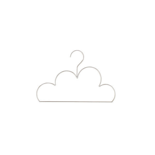 Cloud Coat Hanger - Small White