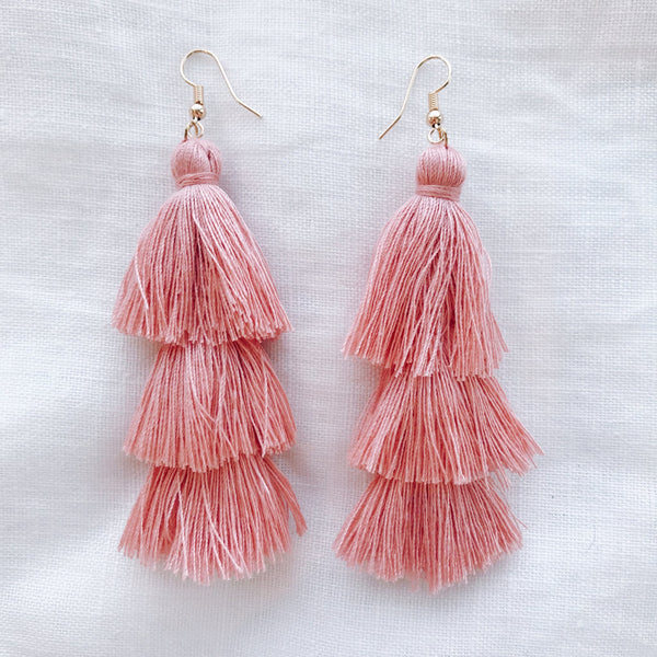 Grace Earring - Peach