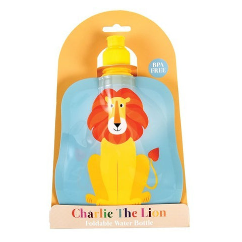 Foldable Water Bottle - Lion