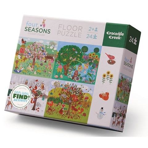 Floor Puzzle 24pc - Four Seasons