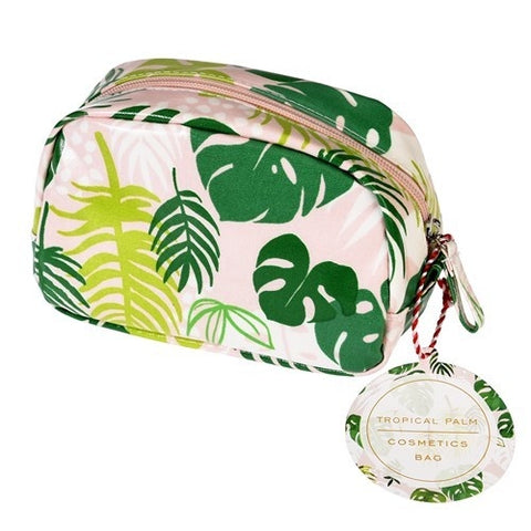 Make Up Bag - Tropical Palm