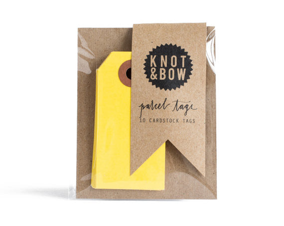 Gift Tags: Yellow