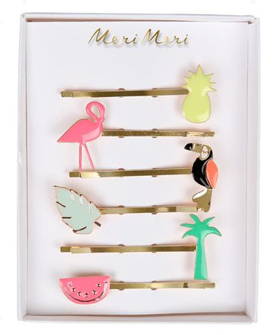 Hair Clips - Tropical