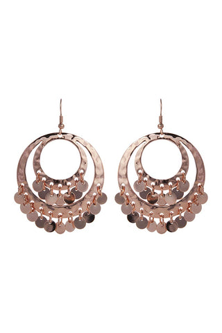 Ines Earring - Rose Gold