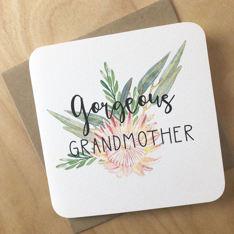 Gorgeous Grandmother Card