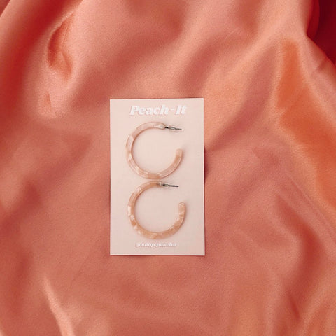 Peachy Hoops