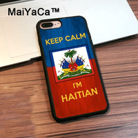 Keep calm I'm Haitian Phone Cases For iphone