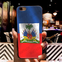 Haitian Flag phone case for iphone