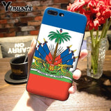 Vintage Haiti Haitian Flag Classic cover phone for iPhone