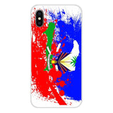 Haiti Haitian Flag Banner For Samsung Phone Shell Cases