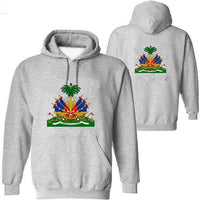 HAITI Flag Sweatshirts Arm of Coats
