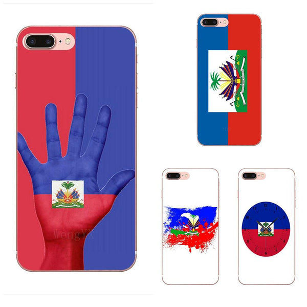 Galaxy Note & Mobile Case Vintage Haiti Haitian Flag