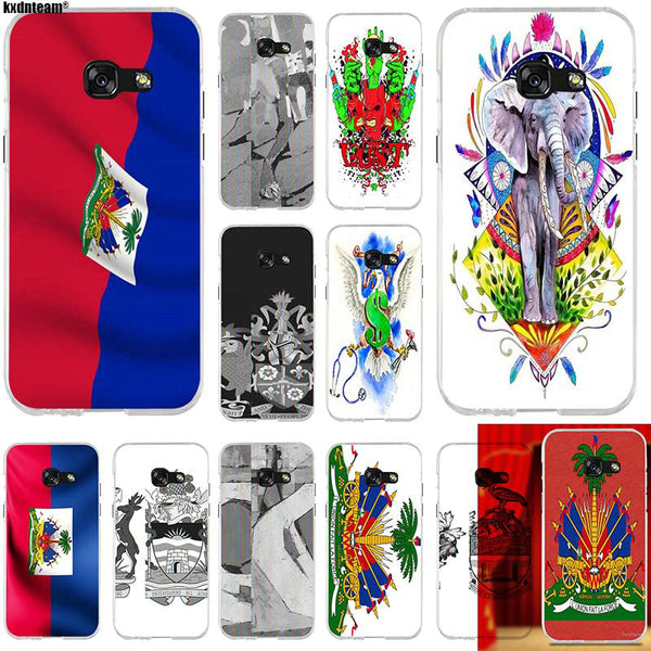 Haiti Coat Of Arms Samsung Galaxy Phone Cases