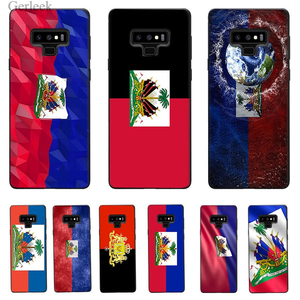 Vintage Haiti Haitian Flag For Galaxy & Note