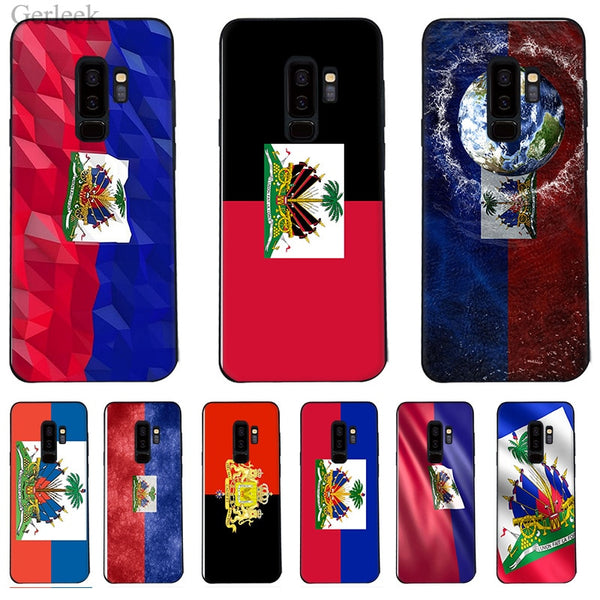 Vintage Haiti Haitian Flag For Samsung Galaxy Edge