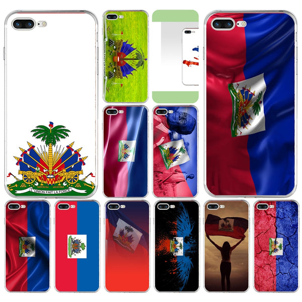 Vintage Haitian Flag iPhone Case